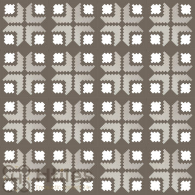 H222.1 Encaustic Cement Tile
