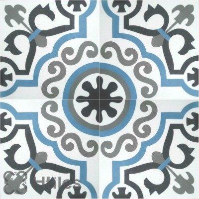 Một trong số những mẫu gạch bông H-tiles